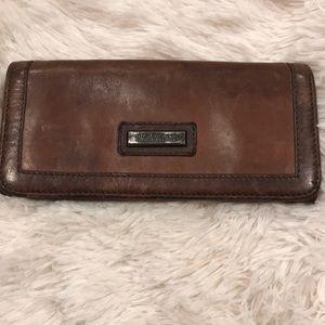Vintage Burberry Brown Wallet